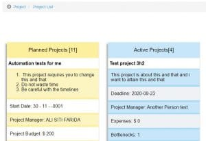 finclock project management