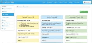 project management system finclock